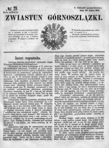 Zwiastun Górnoszlązki, 1871, R. 4, nr 29