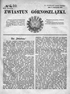 Zwiastun Górnoszlązki, 1871, R. 4, nr 44