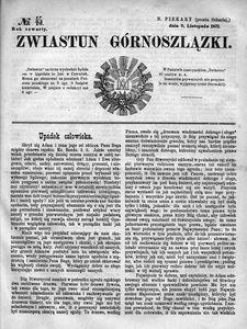 Zwiastun Górnoszlązki, 1871, R. 4, nr 45
