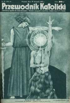 Przewodnik katolicki : ilustrowany tygodnik dla rodzin katolickich. R. 43, nr 35.