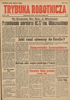 Trybuna Robotnicza, 1945, nr268