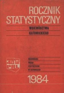 Rocznik Statystyczny Województwa Katowickiego. Rok 8 (1984)