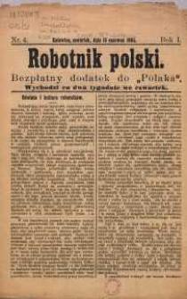 Robotnik Polski, 1905, R. 1, nr 4