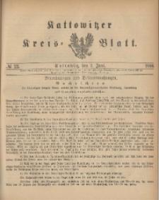 Kattowitzer Kreis-Blatt, 1888, No. 22