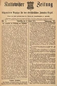 Kattowitzer Zeitung, 1875, Jg. 7, nr9