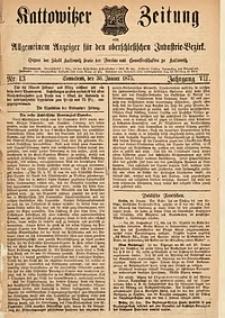 Kattowitzer Zeitung, 1875, Jg. 7, Nr.13