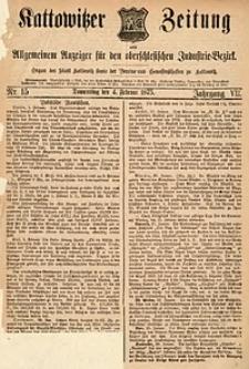 Kattowitzer Zeitung, 1875, Jg. 7, Nr.15