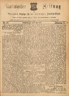 Kattowitzer Zeitung, 1875, Jg. 7, nr88