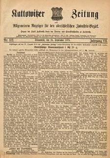 Kattowitzer Zeitung, 1875, Jg. 7, nr112