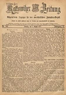 Kattowitzer Zeitung, 1877, Jg. 9, nr181