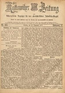 Kattowitzer Zeitung, 1877, Jg. 9, nr224