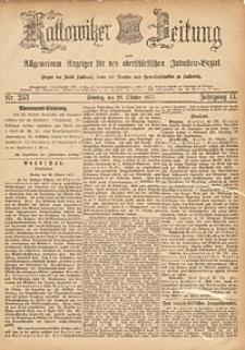 Kattowitzer Zeitung, 1877, Jg. 9, nr253