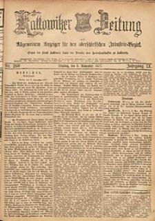 Kattowitzer Zeitung, 1877, Jg. 9, nr260