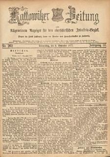 Kattowitzer Zeitung, 1877, Jg. 9, nr262