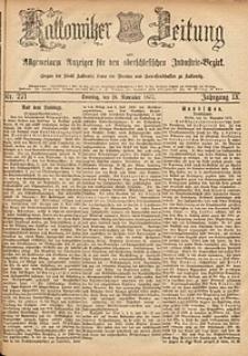 Kattowitzer Zeitung, 1877, Jg. 9, nr271