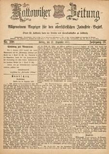 Kattowitzer Zeitung, 1877, Jg. 9, nr298