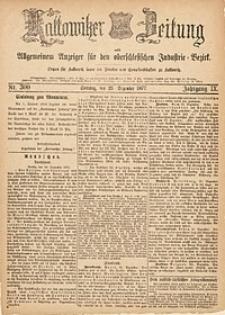 Kattowitzer Zeitung, 1877, Jg. 9, nr300