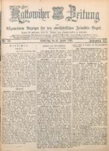 Kattowitzer Zeitung, 1880, Jg. 12, nr18