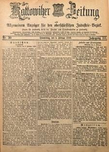 Kattowitzer Zeitung, 1880, Jg. 12, nr30