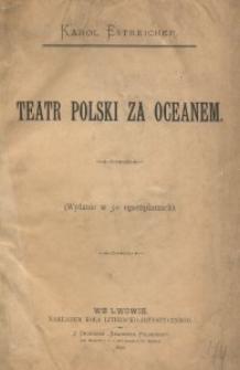 Teatr polski za oceanem