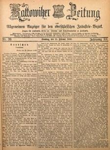 Kattowitzer Zeitung, 1880, Jg. 12, nr39