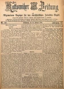 Kattowitzer Zeitung, 1880, Jg. 12, nr44