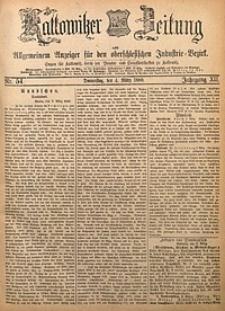 Kattowitzer Zeitung, 1880, Jg. 12, nr54