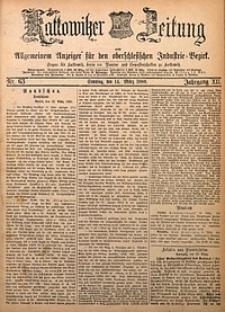 Kattowitzer Zeitung, 1880, Jg. 12, nr63