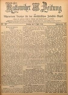 Kattowitzer Zeitung, 1880, Jg. 12, nr79