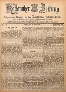 Kattowitzer Zeitung, 1880, Jg. 12, nr119