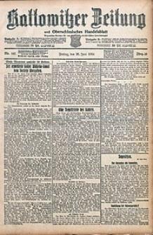 Kattowitzer Zeitung, 1914, Jg. 46, nr145