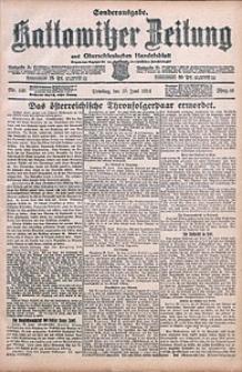 Kattowitzer Zeitung, 1914, Jg. 46, nr148