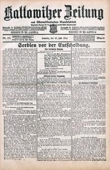 Kattowitzer Zeitung, 1914, Jg. 46, nr171