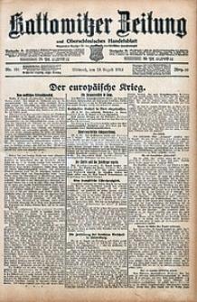 Kattowitzer Zeitung, 1914, Jg. 46, nr191