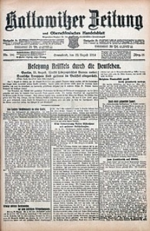 Kattowitzer Zeitung, 1914, Jg. 46, nr194