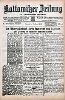 Kattowitzer Zeitung, 1914, Jg. 46, nr197