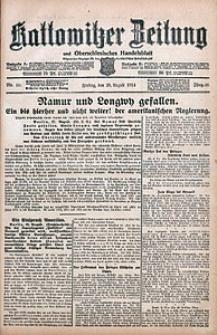 Kattowitzer Zeitung, 1914, Jg. 46, nr199