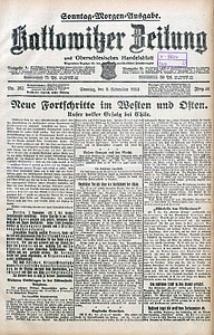 Kattowitzer Zeitung, 1914, Jg. 46, nr262