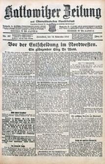 Kattowitzer Zeitung, 1914, Jg. 46, nr267
