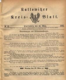 Kattowitzer Kreis-Blatt, 1886, No. 12