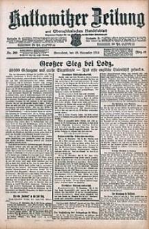 Kattowitzer Zeitung, 1914, Jg. 46, nr280