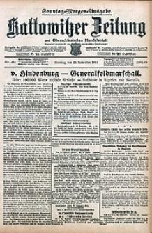 Kattowitzer Zeitung, 1914, Jg. 46, nr282