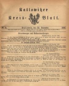 Kattowitzer Kreisblatt. 1886, nr 51