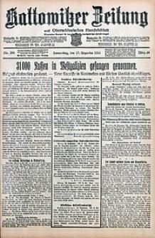 Kattowitzer Zeitung, 1914, Jg. 46, nr299