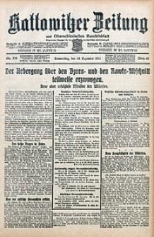 Kattowitzer Zeitung, 1914, Jg. 46, nr306