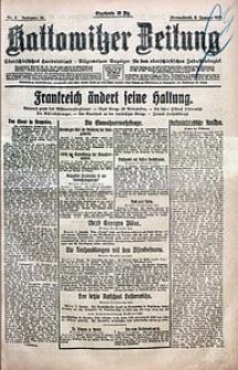 Kattowitzer Zeitung, 1921, Jg. 53, nr6