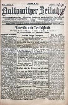 Kattowitzer Zeitung, 1921, Jg. 53, nr8