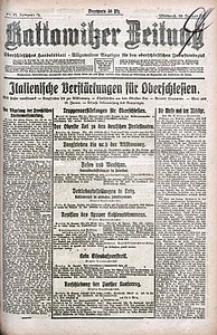 Kattowitzer Zeitung, 1921, Jg. 53, nr15
