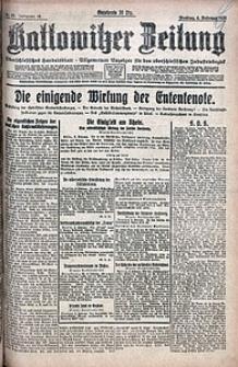 Kattowitzer Zeitung, 1921, Jg. 53, nr29