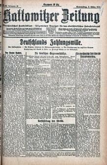 Kattowitzer Zeitung, 1921, Jg. 53, nr52
